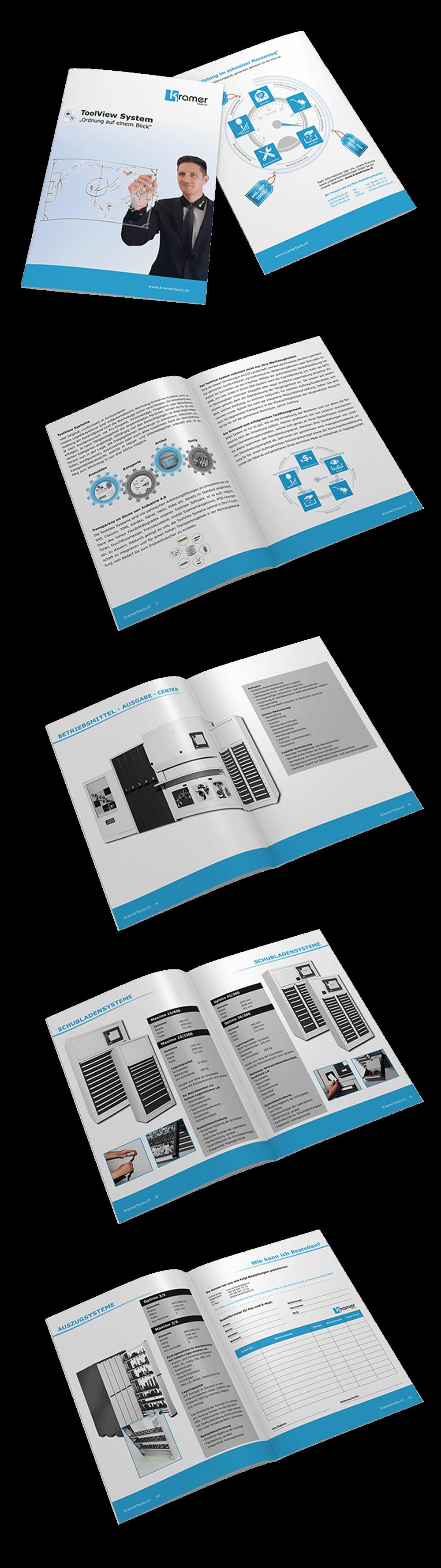 Broschüre ToolView System