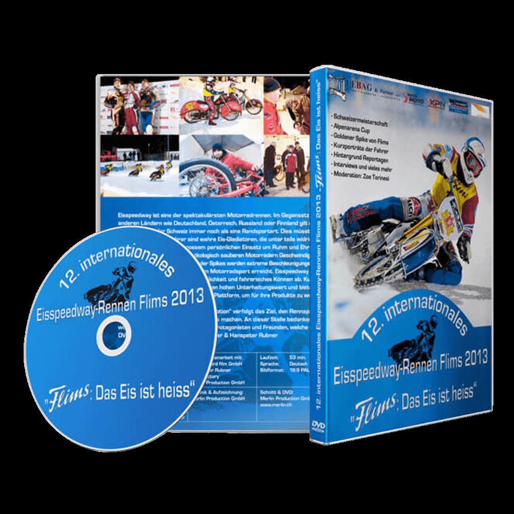 DVD Cover Eisspeedway-Rennen Flims 2013