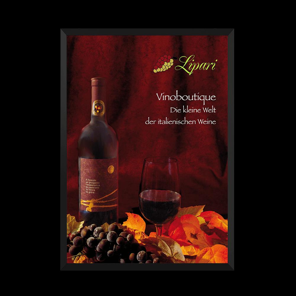 Plakat Vinoboutique Lipari