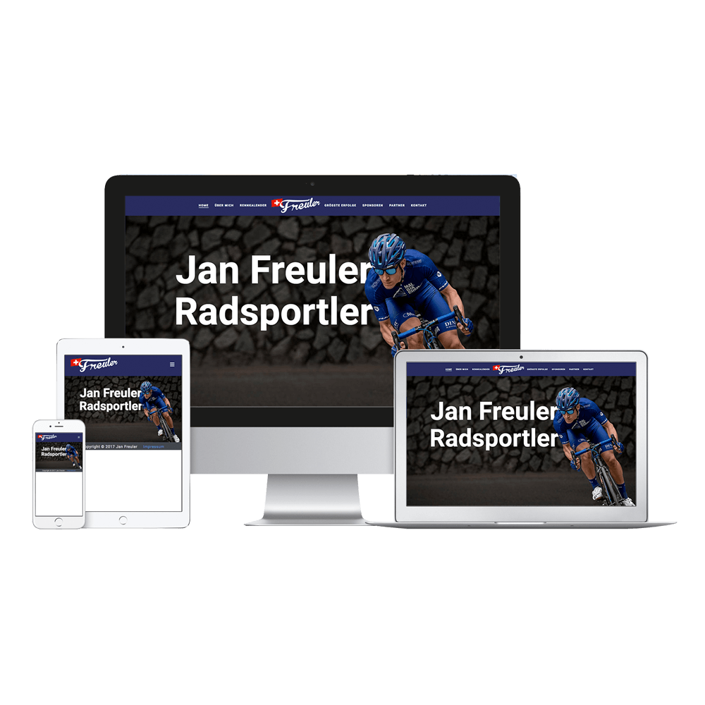 Homepage Jan Freuler