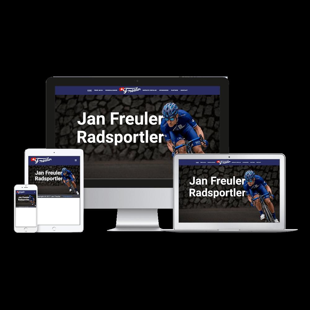 Homepage Jan Freuler