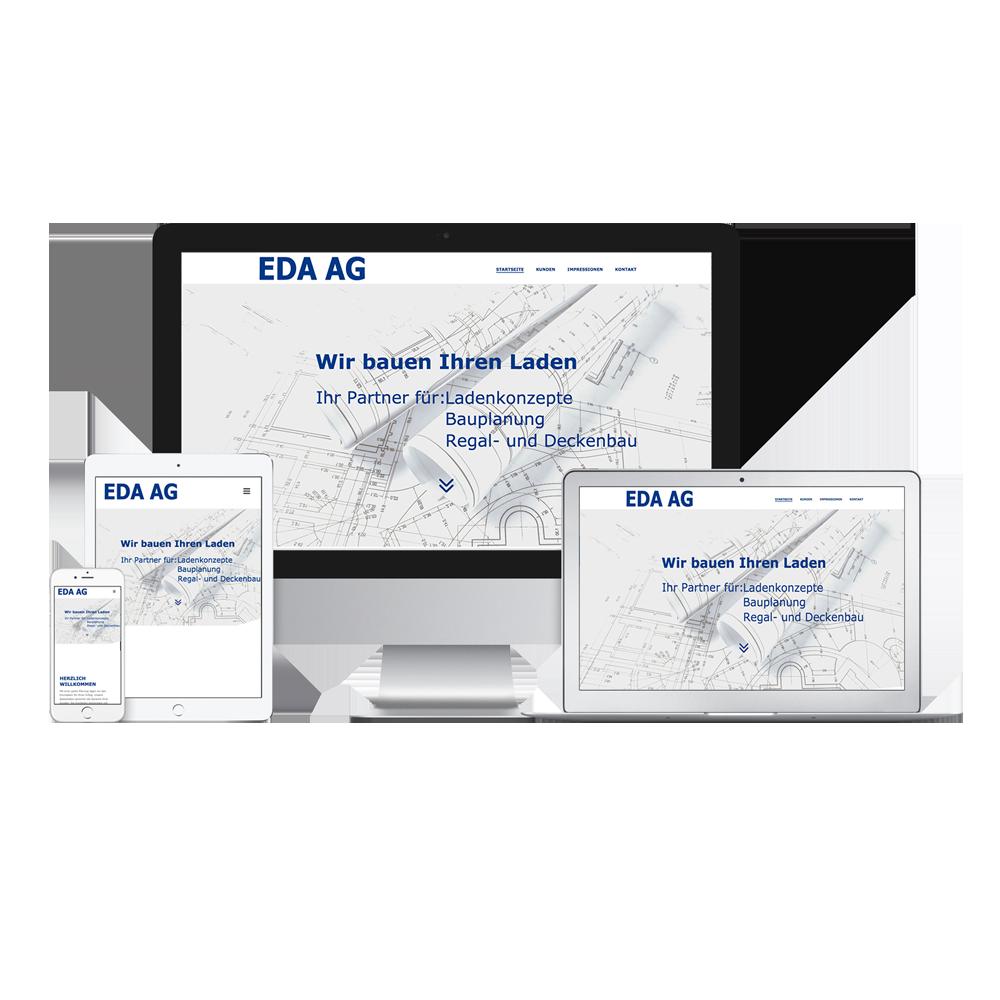 Homepage EDA AG